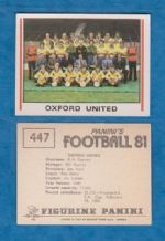 Oxford United Team 447